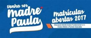 Matricula Abertas Colégio Madre Paula Montalt