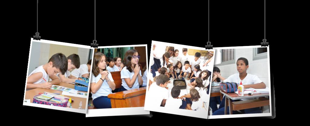 Alunos Ensino Fundamental I Colégio Madre Paula