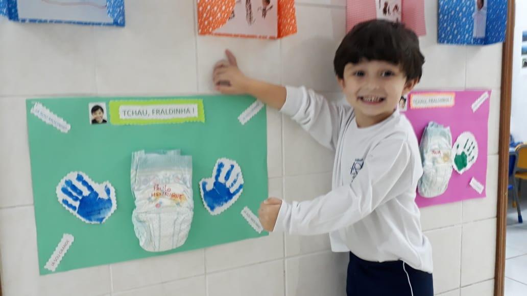 Dando Tchau para a Fraldinha - Projeto Desfralde Madre Paula